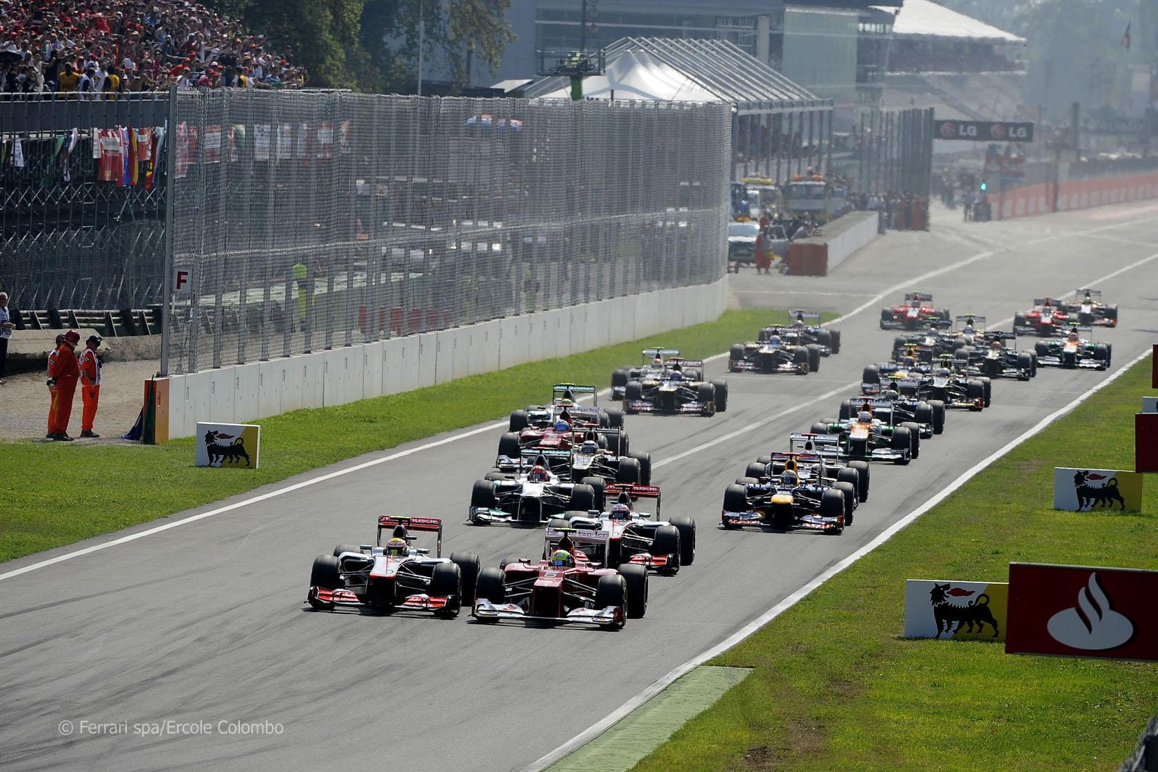 F1: doppietta Mercedes a Monza, Hamilton fischiato e Marchionne furioso