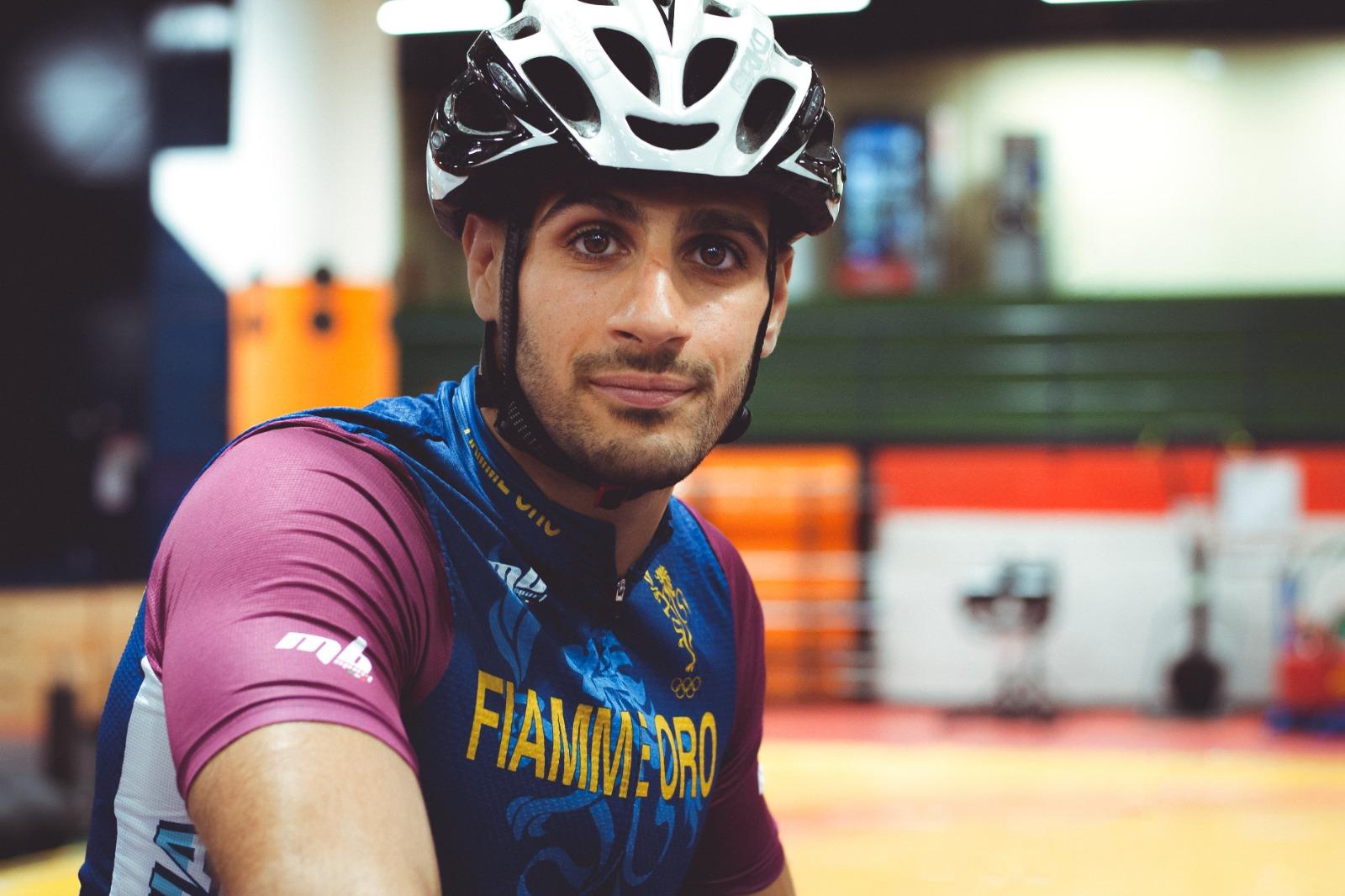 """Sport e beneficenza, Ciro Russo e la 'pedalata' per l'Airc: """"Una sfida per la vita"""" L'azzurro di lotta greco-romana ha percorso 1000 km in 10 giorni"""