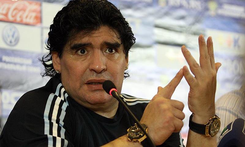 Napoli, Champions League: l'ottimismo di Maradona è un toccasana per Sarri