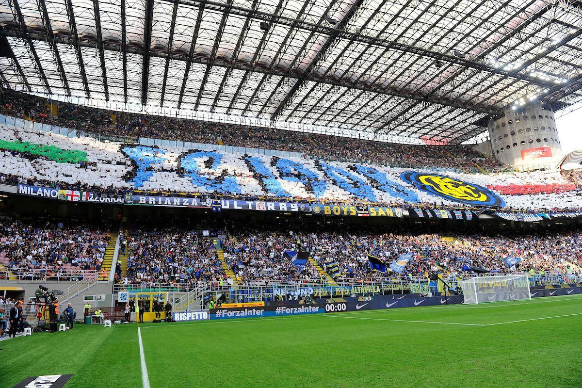 San Siro, aggressione durante Inter – Fiorentina: Daspo per un 19enne